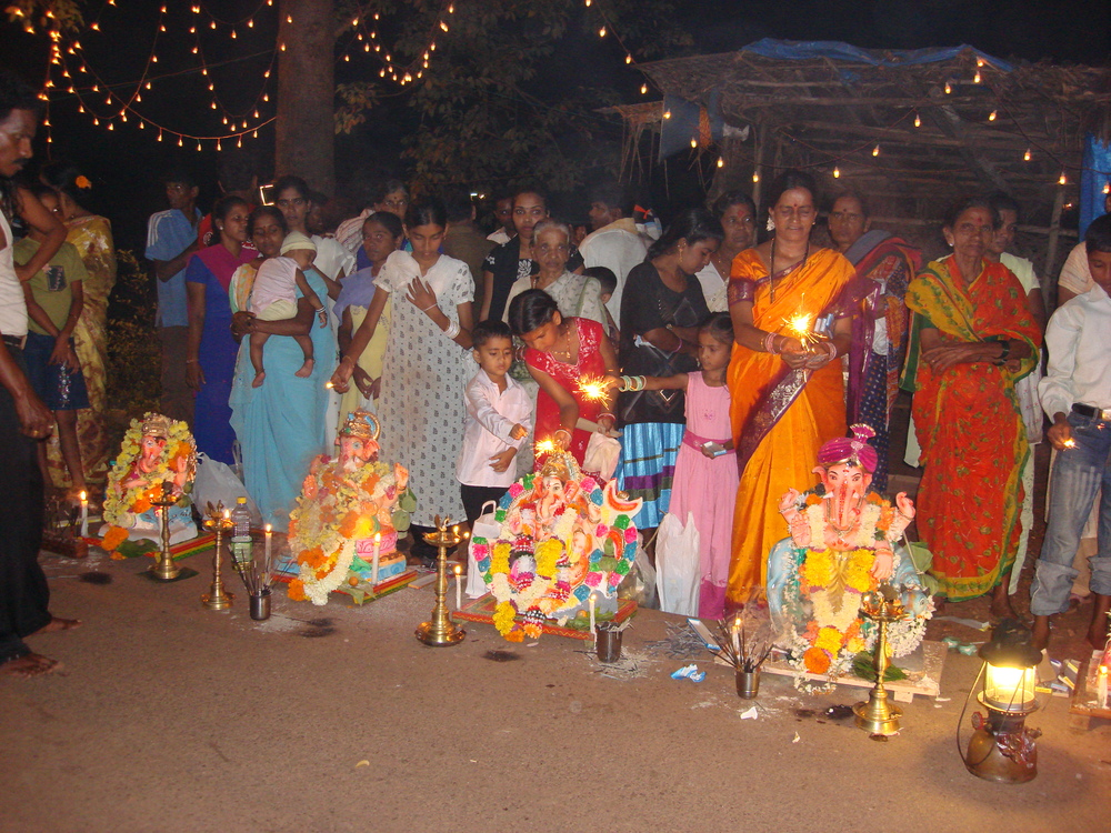 the glorious Ganesha Festival in India