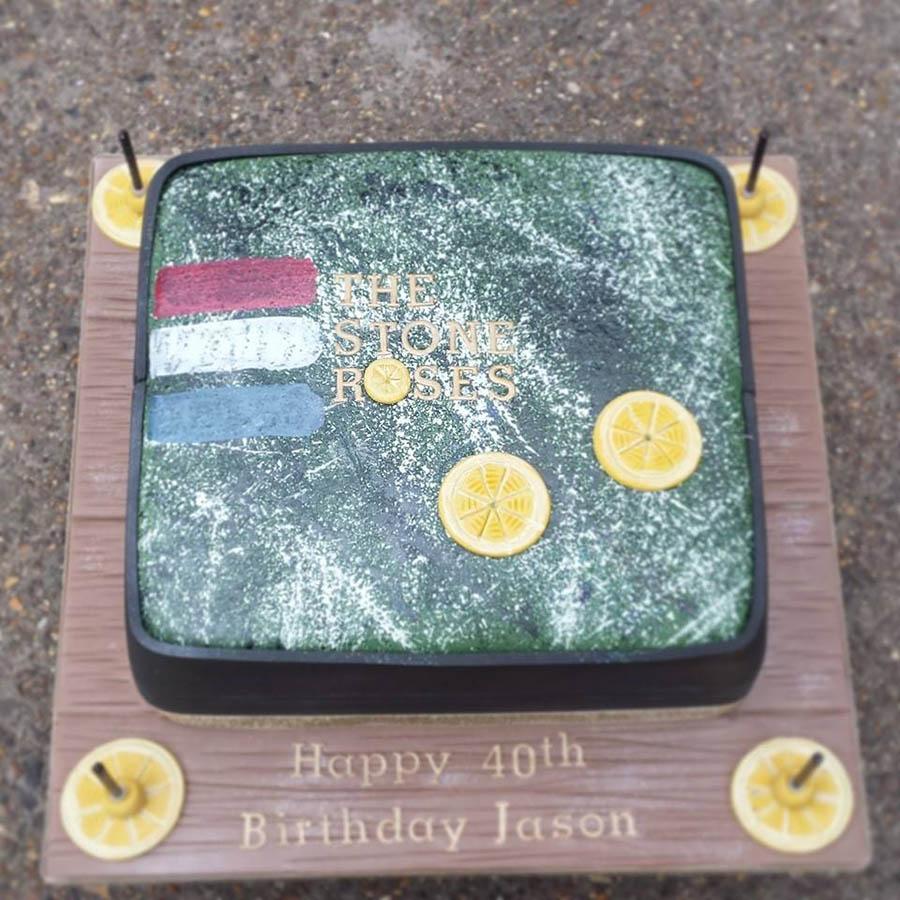 Stone Roses Album Cover Cake
