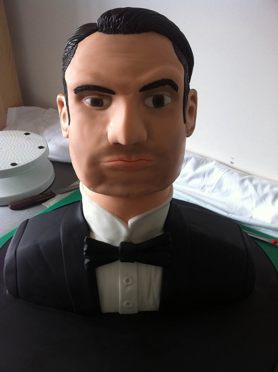Jimmy Carr A League of their Own Cake