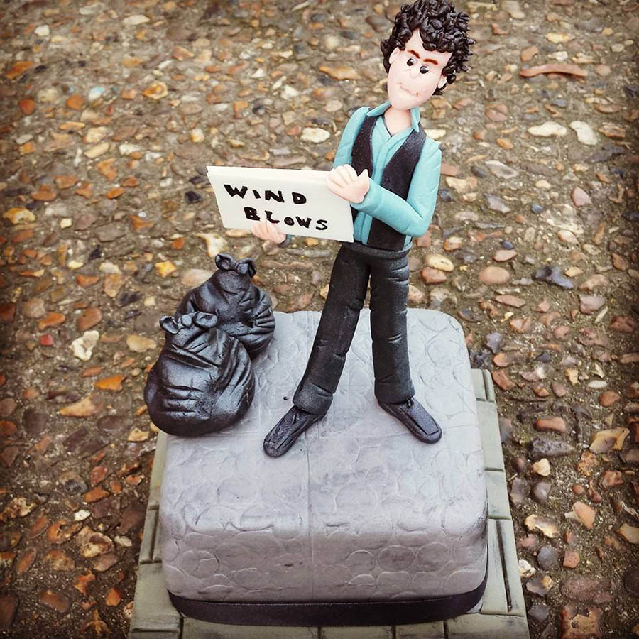 Bob Dylan Subterranean Homesick Blues Cake
