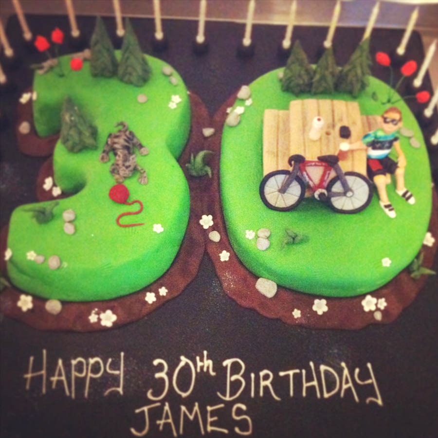 30 Cycling Cake