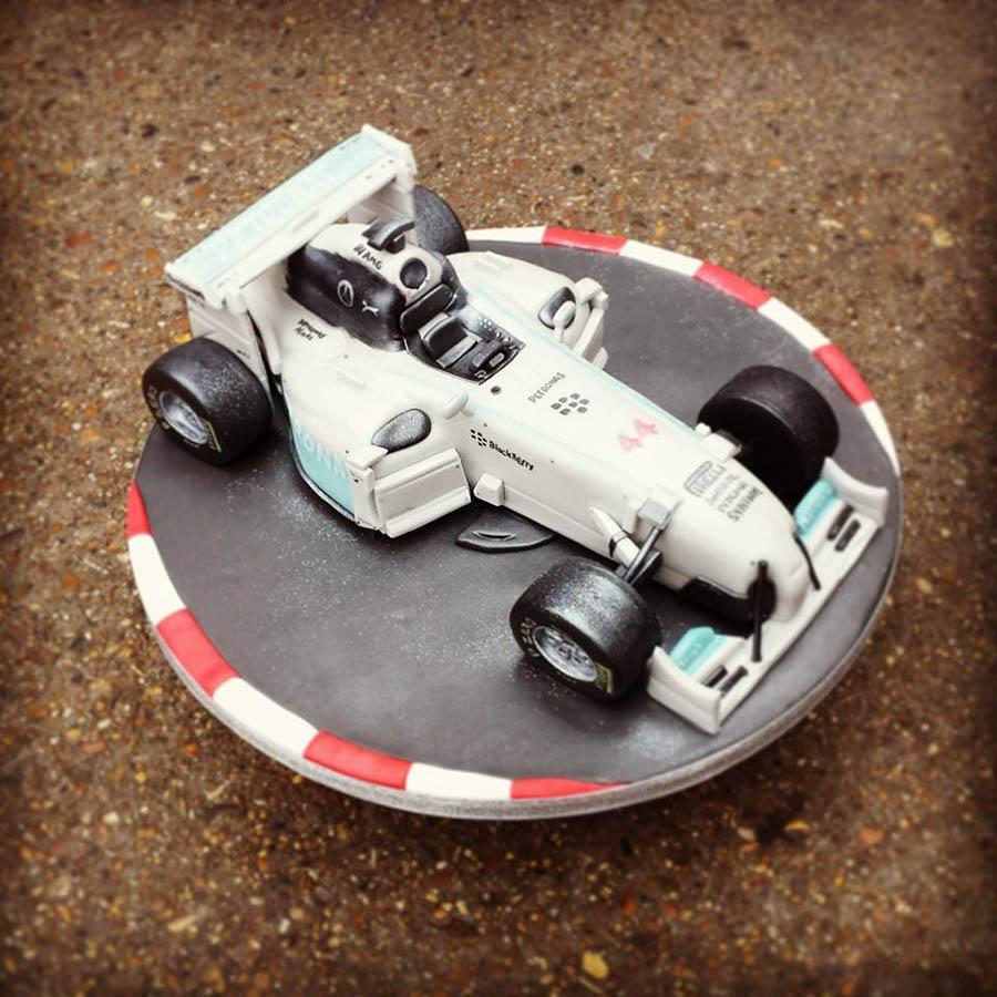 McLaren F1 Cake