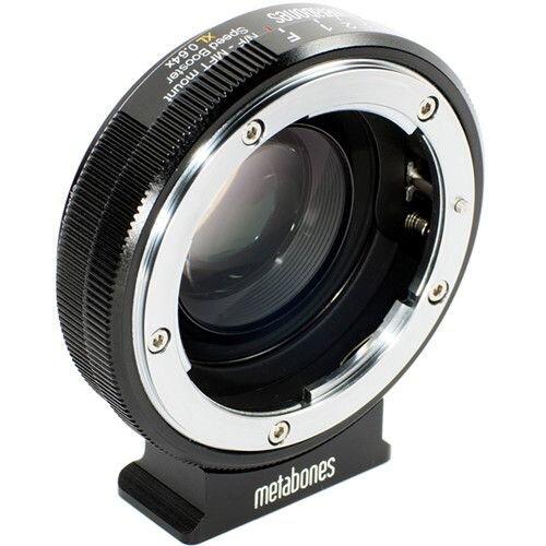 Metabones Speed Booster XL 0.64x Adaptador de lentes Nikon G para Panasonic Lumix GH5