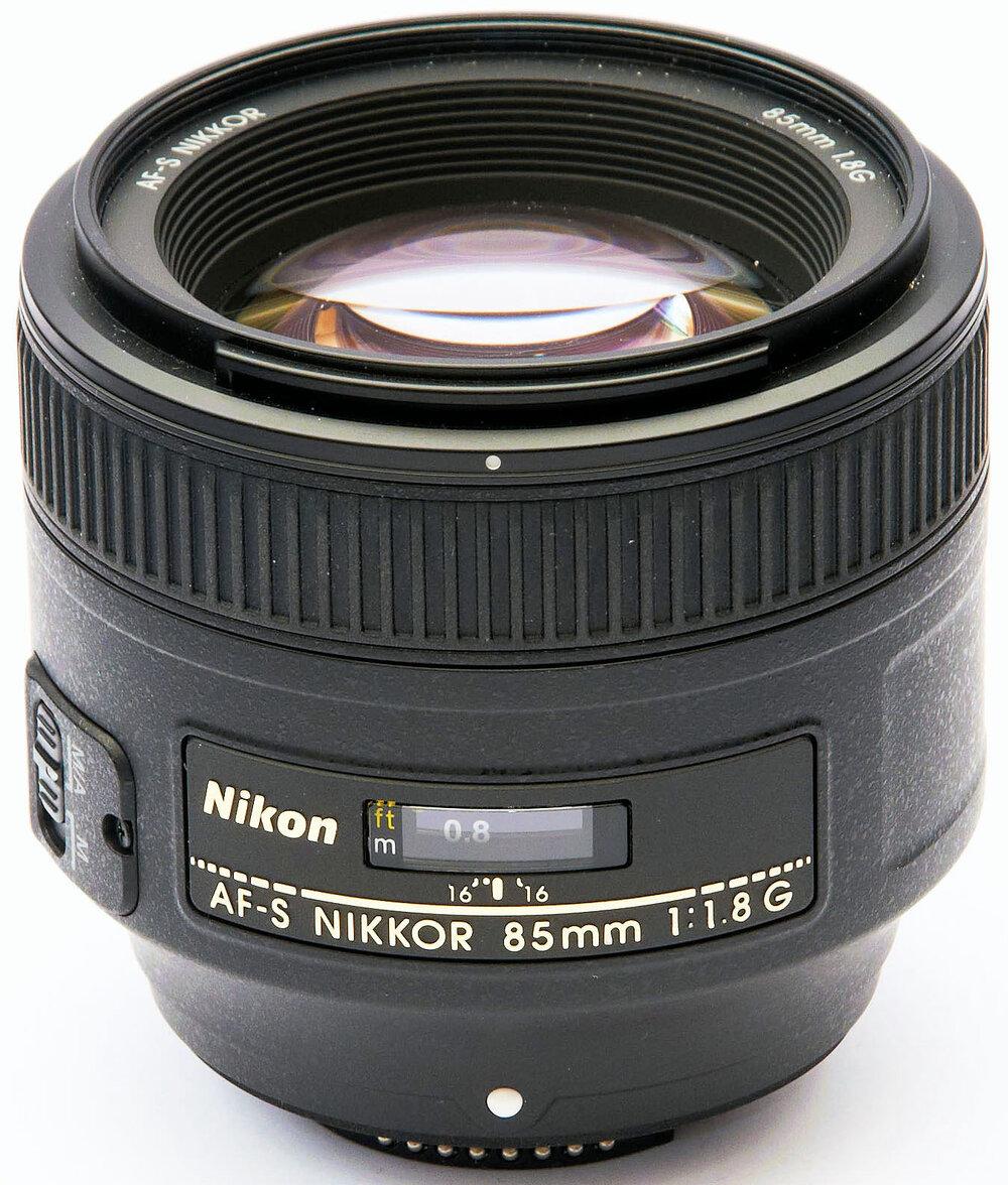 Nikon - AF-S 85mm f-1.8