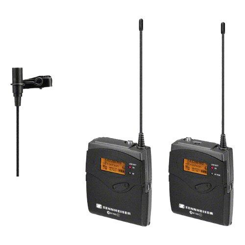 kit microfones lapela sem fios sennheiser EW112P