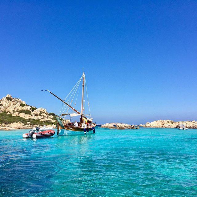 La Maddalena, Sardinia. #nofilter #beauty #colours #mediterranean #sea #maddalena #archipelago #sardinia #italy #calasantamaria #nature  #blue #crystalwater #summer #boat #island #scenery #pure #lavitaebella #travel #travelphotography #explore #ianaluxurytravel