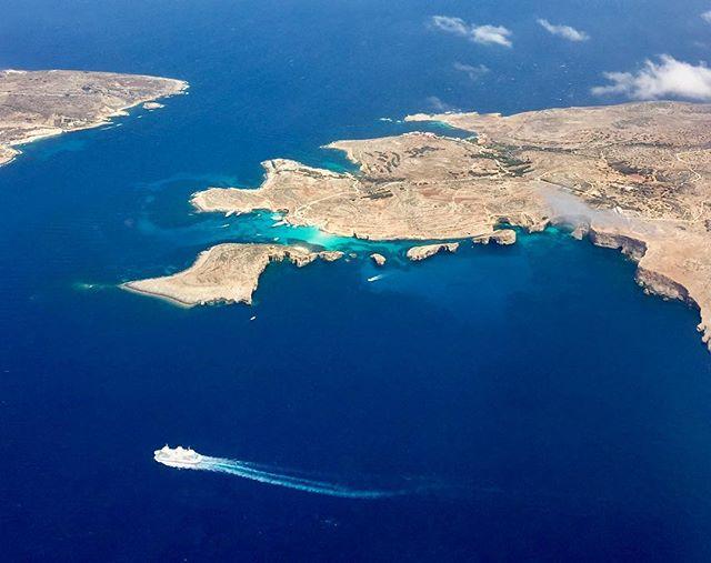 Hello Malta! #camino #island #malta #aerial #sea #beauty #colours #malta