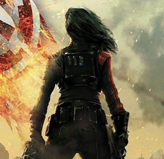 Visuel tiré du roman Inferno Squad.