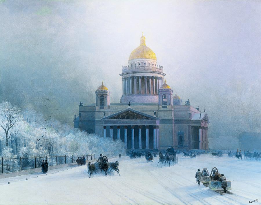 Tableau signéIvan Konstantinovitch Aïvazovski.