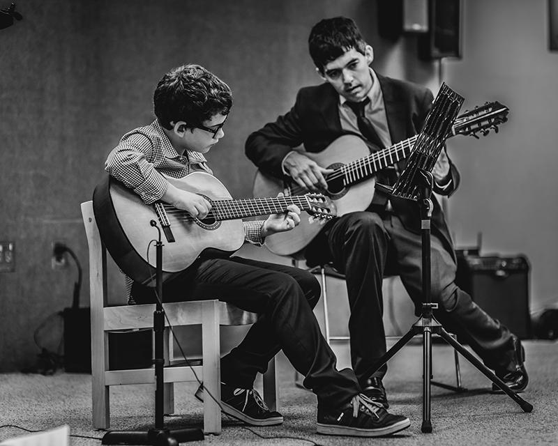 2015 Student recital photo by Rafael Marxuach
