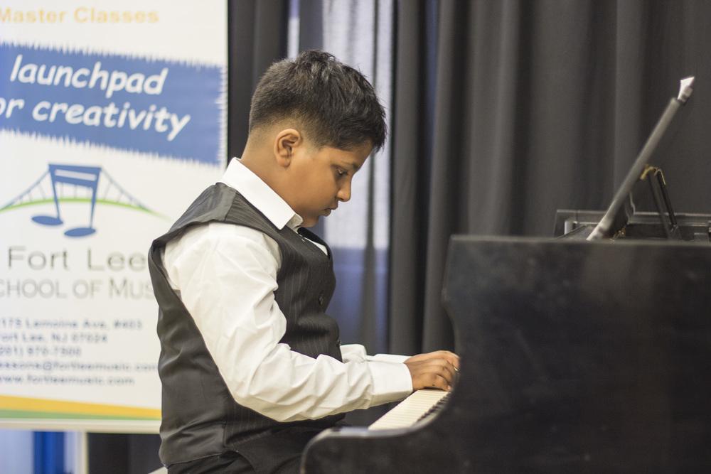 2016 Student recital photo by   piano teacher, Kyle Walker