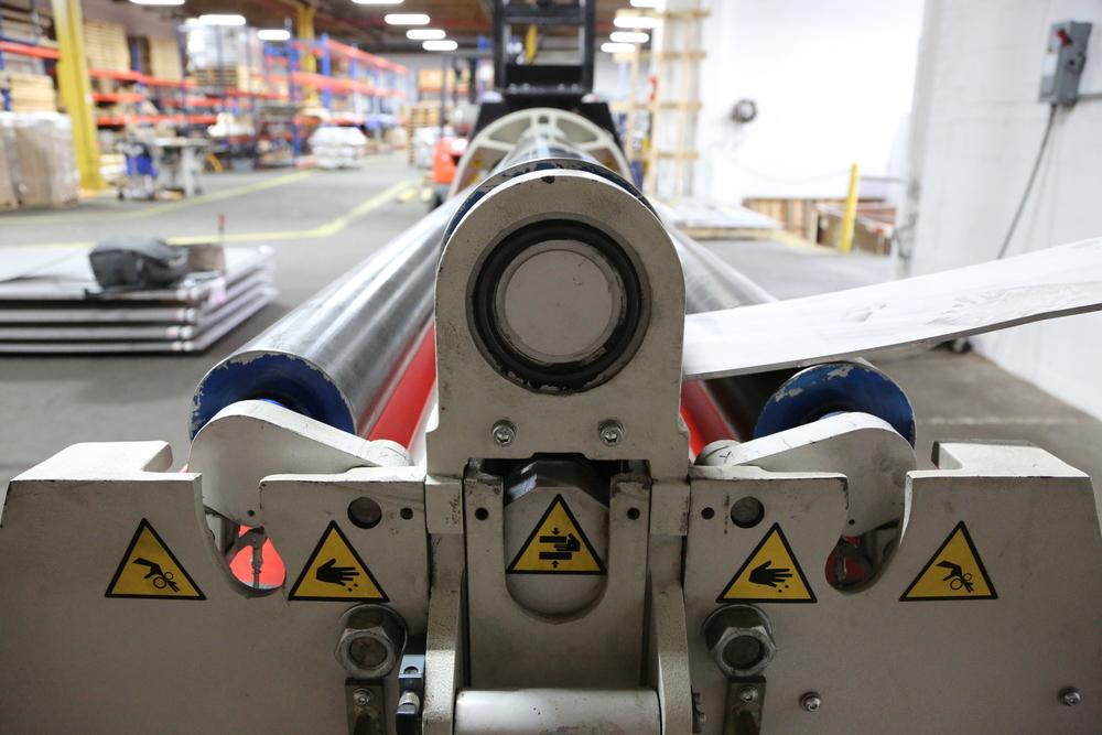 DAVI MCA 3020 CNC Plate Roll