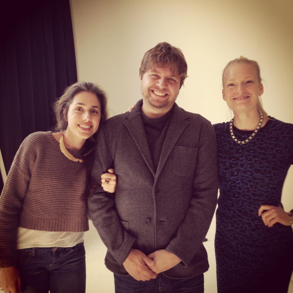 Nathalie from Apostrophe, Dan Saelinger & Annika !
