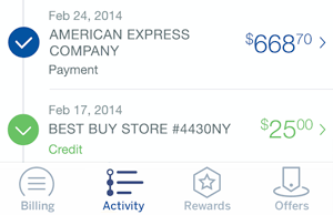The New Amex Mobile: Complete Redesign for Native Mobile Apps