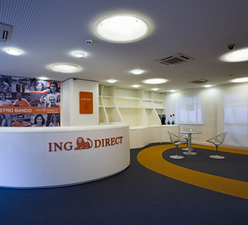 Oficinas ing direct madrid ypuntoending for Oficinas ing direct barcelona