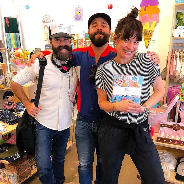 Shop @TheRecklessUnicornLA kids boutique in #LosFeliz for the coolest curated toys + gifts and now my @BrianWonders Storybooks! ✨🦄✨💖✨🦄✨