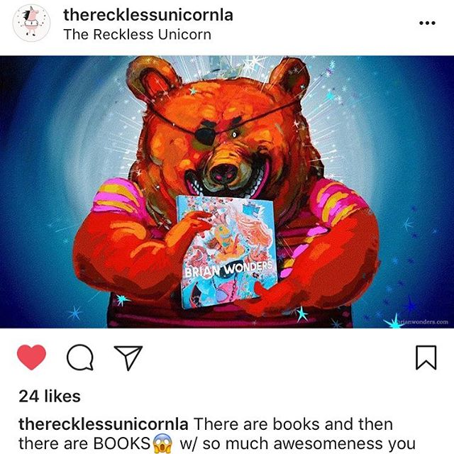 Had to share this super sweet post from @therecklessunicornla !!! And I love I get to use my favorite emojis ✨💖🦄💖✨🌊🦄💖✨🦄✨