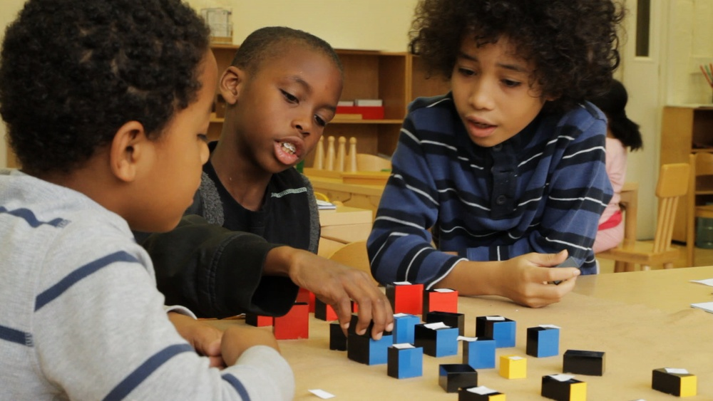 Deeper Learning A Collaborative Classroom Is Key ~ Elementary age work — montessori guide