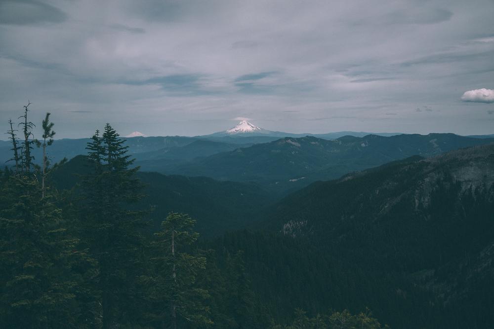Mount Jefferson & Mount Adams