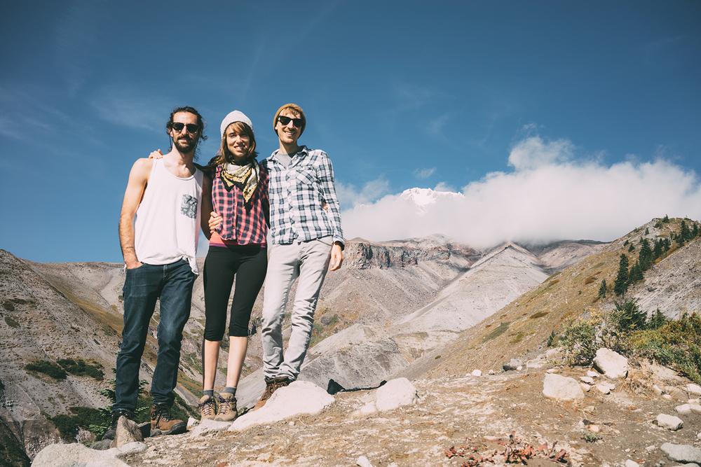 Nolan, Chrissy and myself at Zig Zag Canyon.