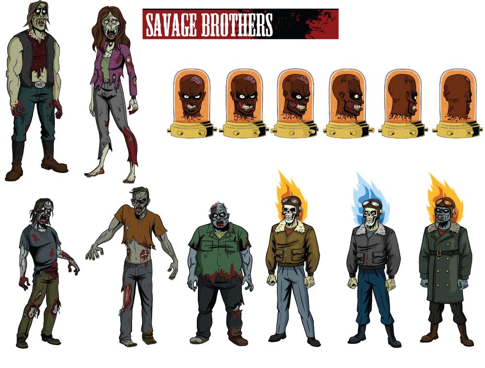 Savage Brothers Pilot