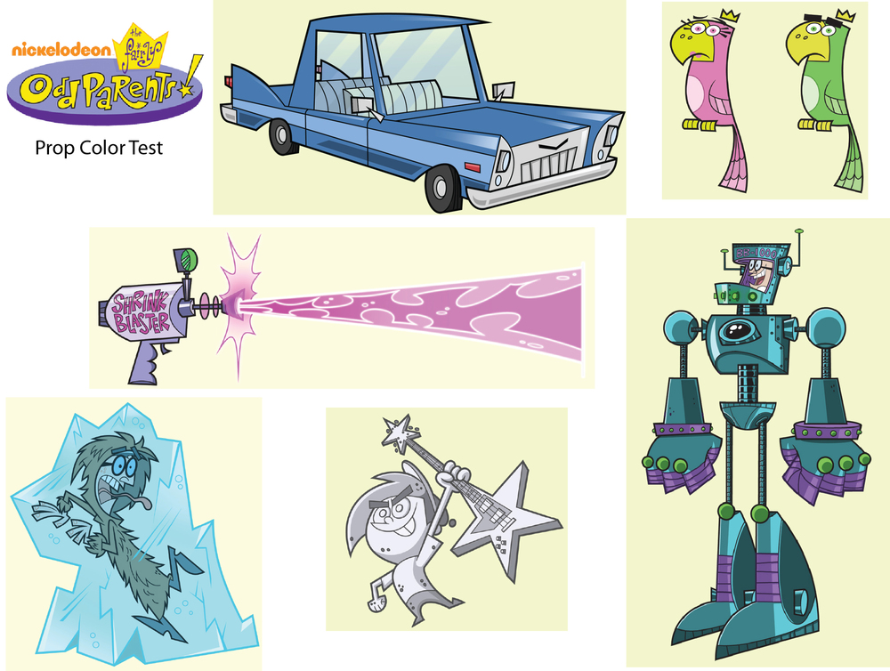Fairly OddParents Color Stylist Test