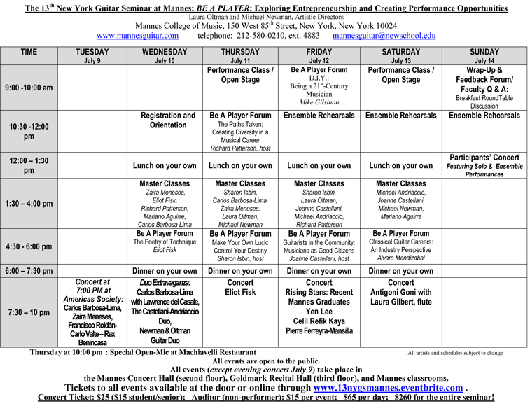 Schedule for NY Guitar Seminar at Mannes 2013-1.jpg