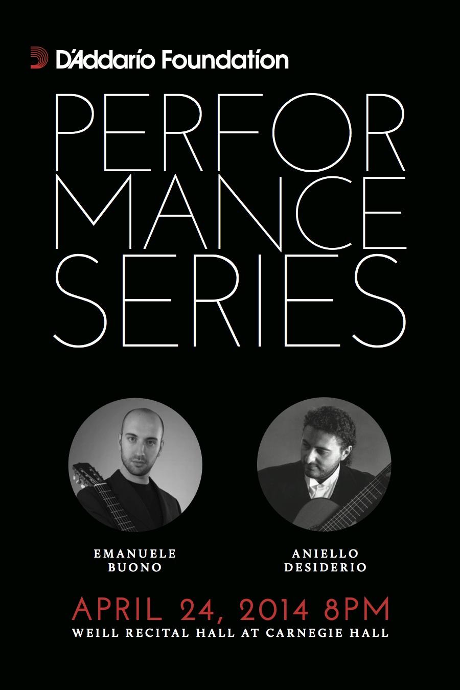 D'Addario Performance Series