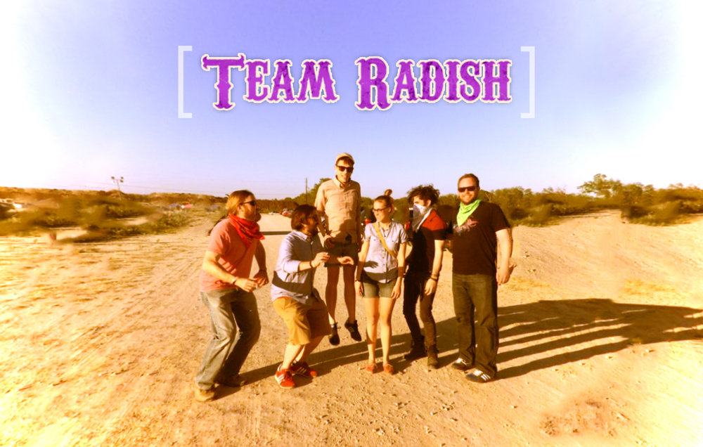 Team radish successfully attended Austin Psych Fest