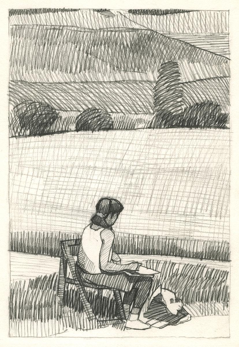 1992 Burmeister Claudia sketching.jpeg