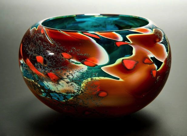 Lagoon Bowl by Peter Layton