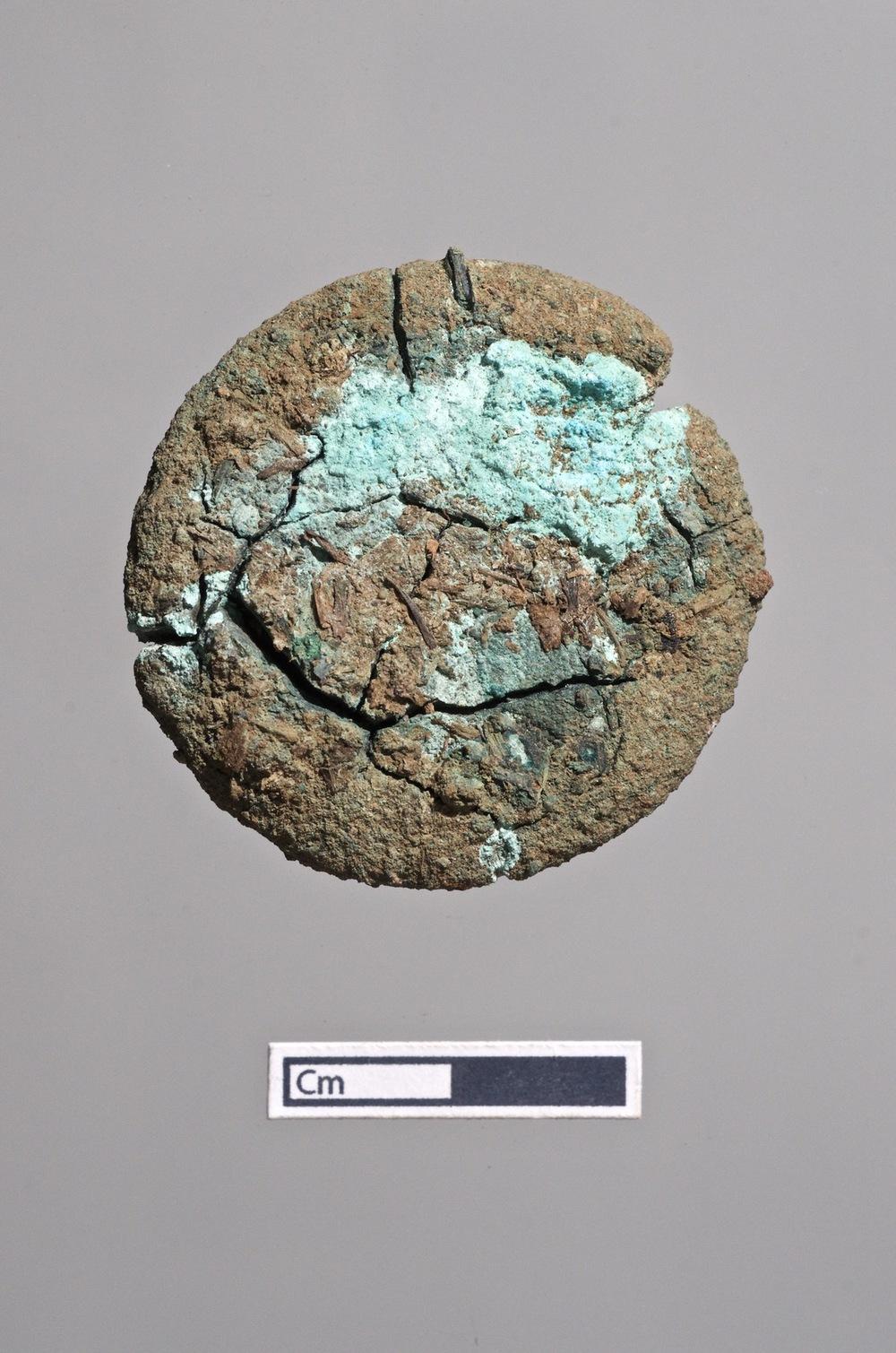 Bronze (?) Disk (Coin?)