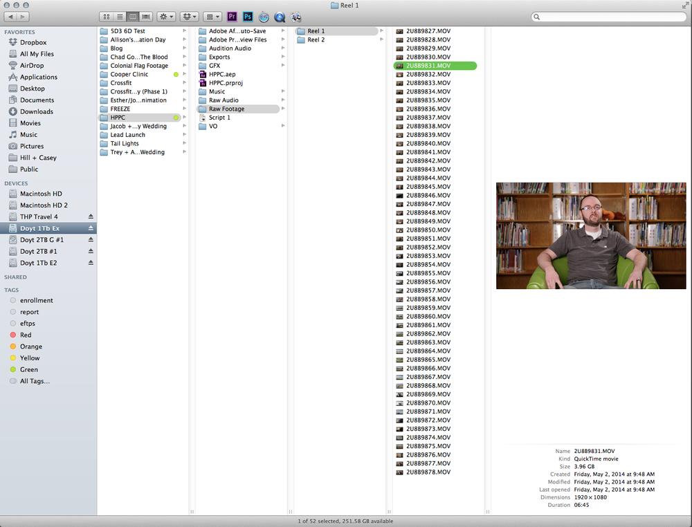 File Hierarchy