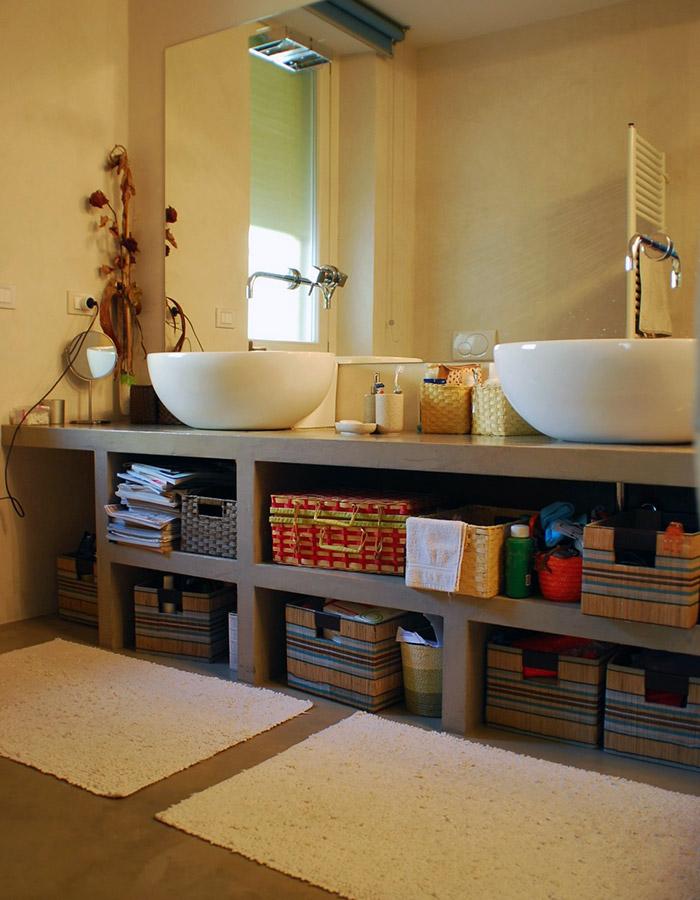 Rivestimento manufatti, pareti e pavimento in resincementizio