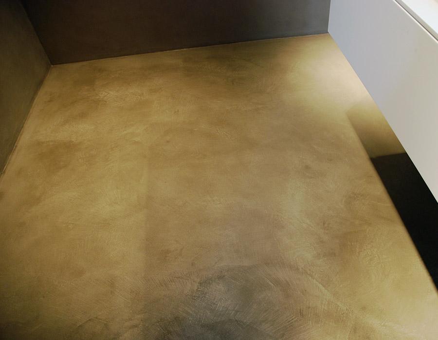 Rivestimento pareti e pavimento in resincementizio