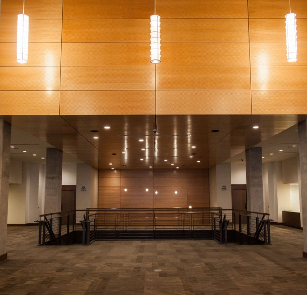 Floors and acoustical ceilings