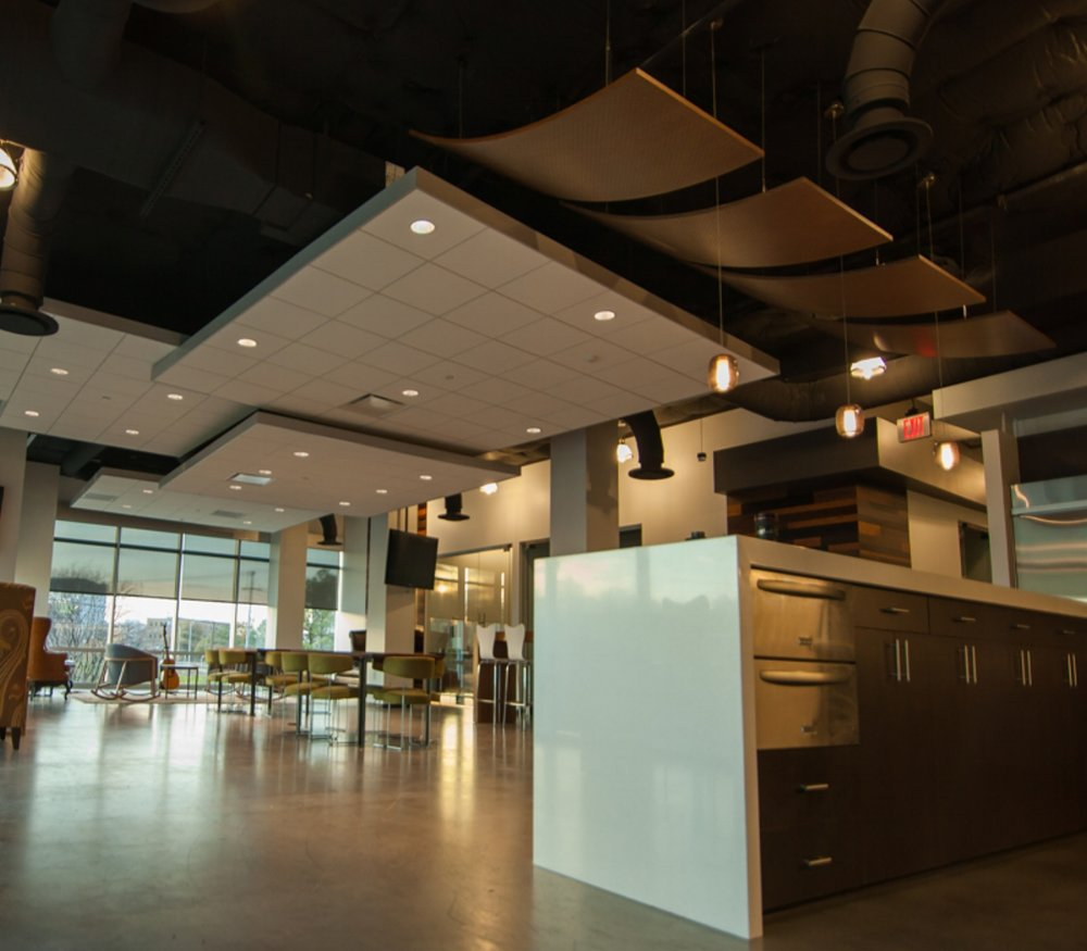Open Plenums Vs Acoustical Ceilings Can You Have Both