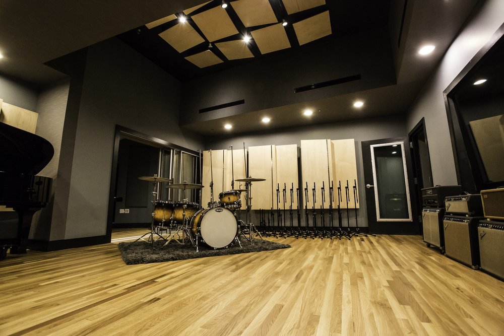 Acoustic Ceiling Tiles Flooring For Recording Studios