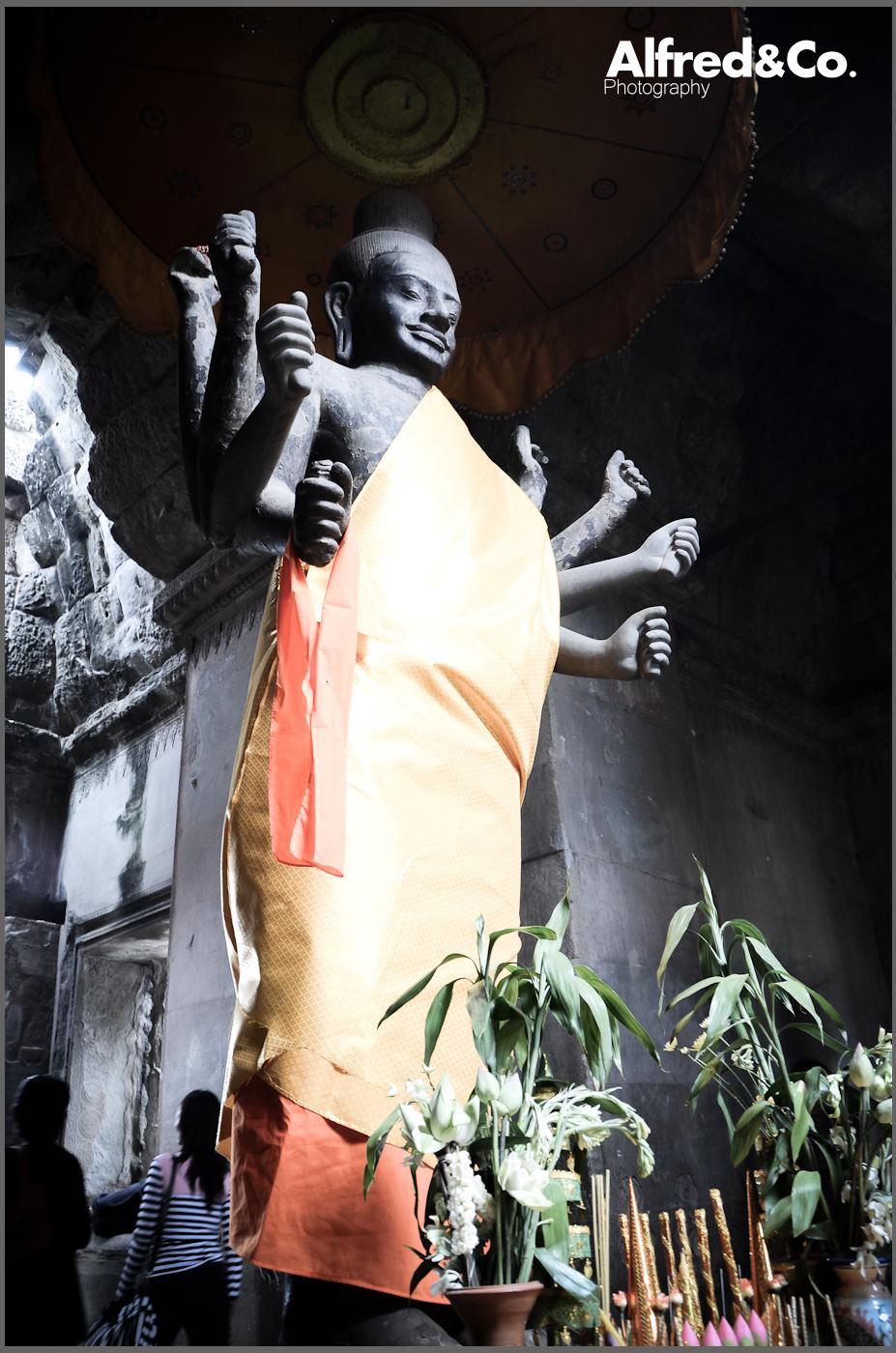 Angkor Wat, Siem Reap - Cambodia. Alfredandco photography, Lancashire