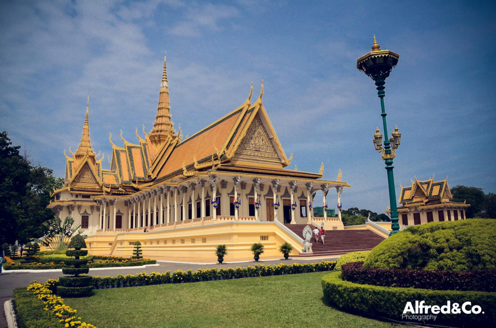 The Royal Palace, Phnom Penh - Cambodia by Alfred and Co Photography