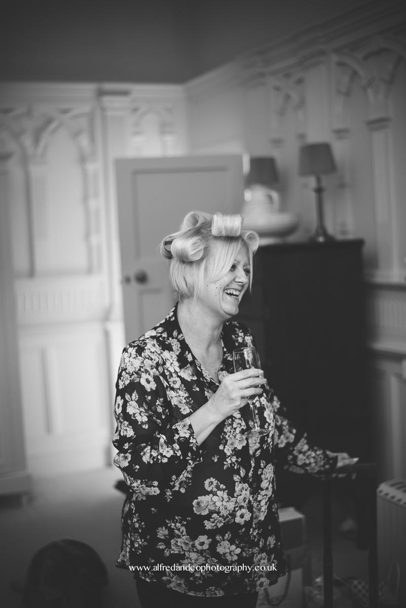 tissington hall wedding photographer