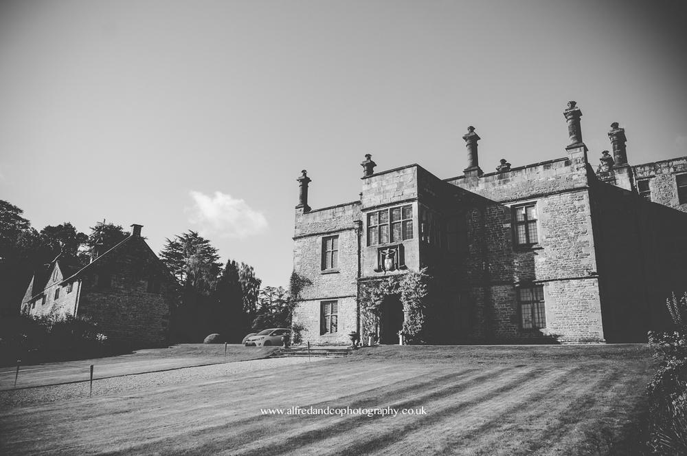 exterior shot of tissington hall