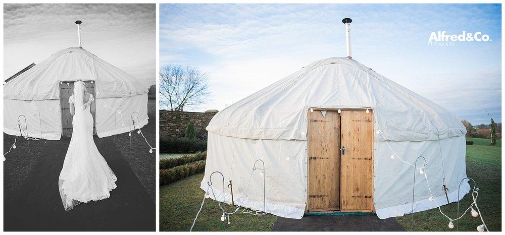 Yorkshire Wedding Yurt