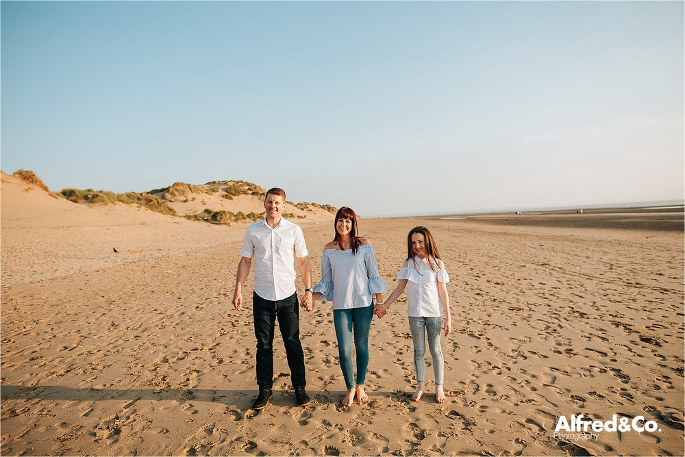 formby beach pre wedding photo shoot