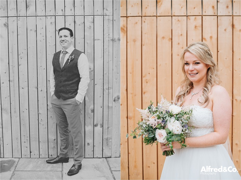 boho wedding at bashall barn clitheroe