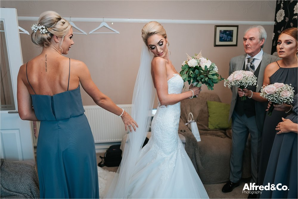 Bridal photography in lancashire