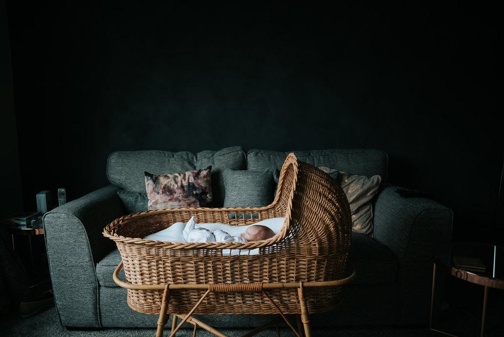Beautiful Wicker Crib