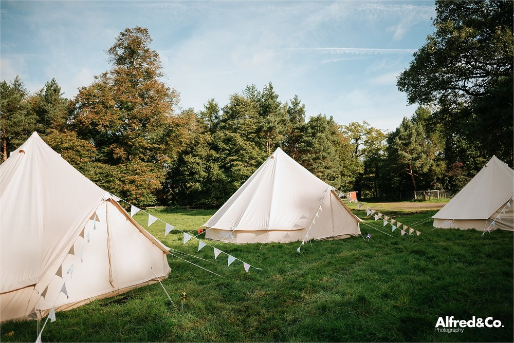 wedding belles camping yurts at dorfold hall in cheshire