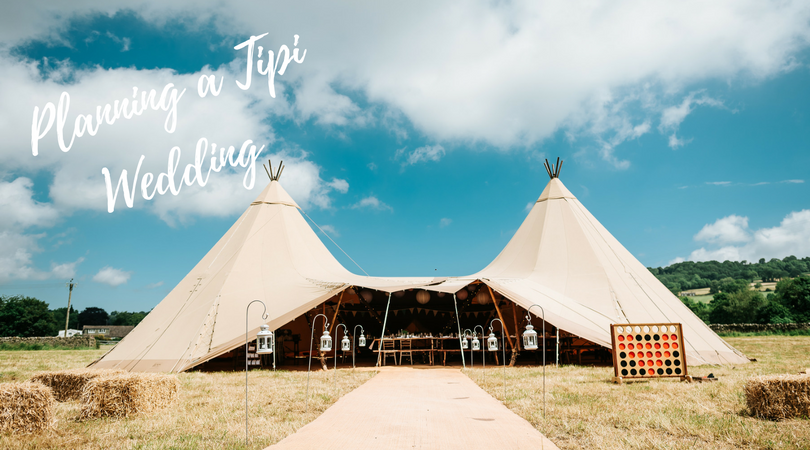Sarah and Lawrence's Wedding June 2017 - Tipi by Big Chief