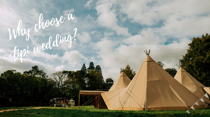 Tipi at Dorfold Hall - Cheshire